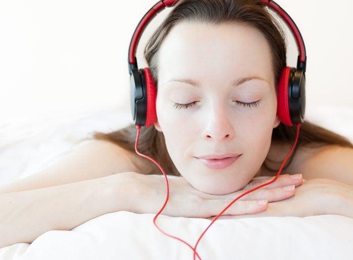 La musique vous relaxe.