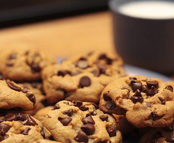 1. Sa consommation de biscuits et de lait