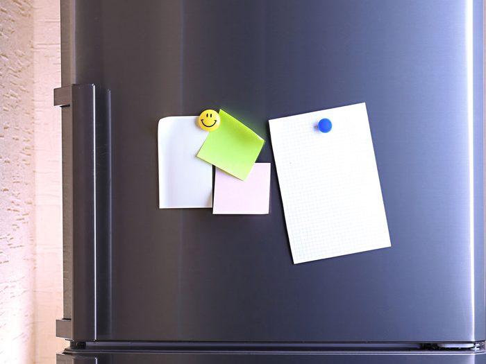 1. Faites un suivi de l'inventaire de votre frigo