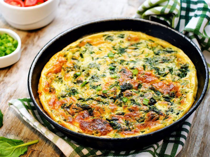Mets habituel: omelette