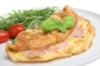 Frittata jambon-fromage