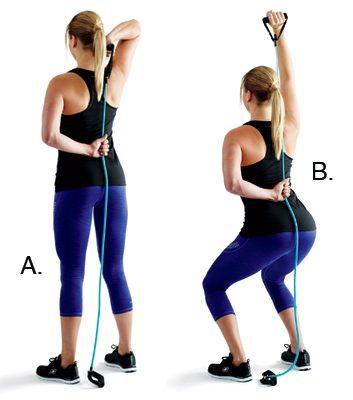 3. Extensions d'un bras avec flexions: 2 minutes