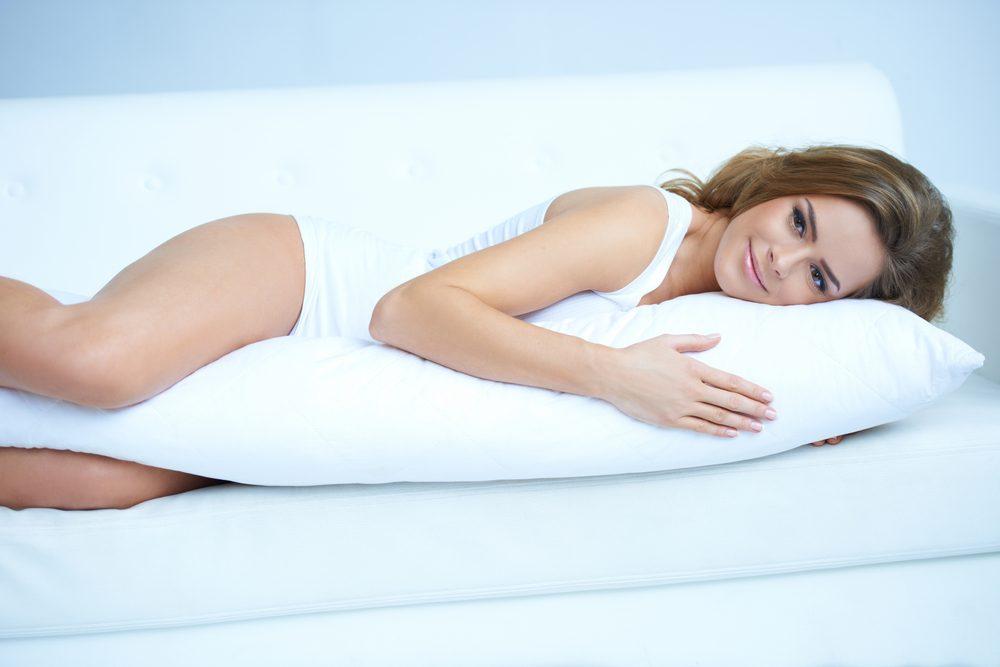 L'oreiller allongé