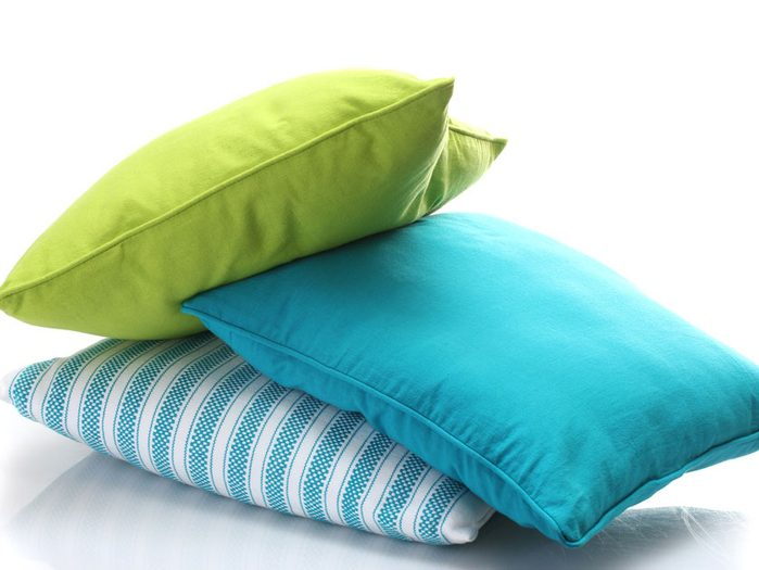 4. Faites le plein d'oreillers