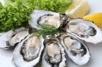 Huître, haricot, volaille, poisson (et autres aliments riches en zinc)