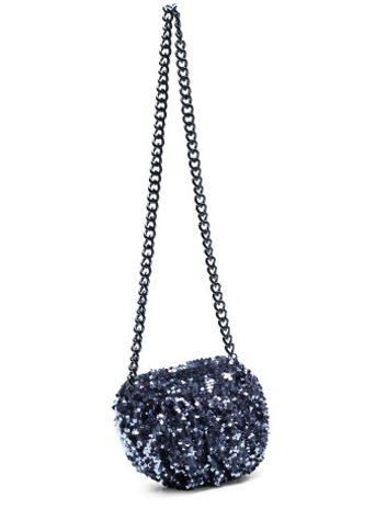 Mini sac scintillant à bandoulière de Betsey Johnson