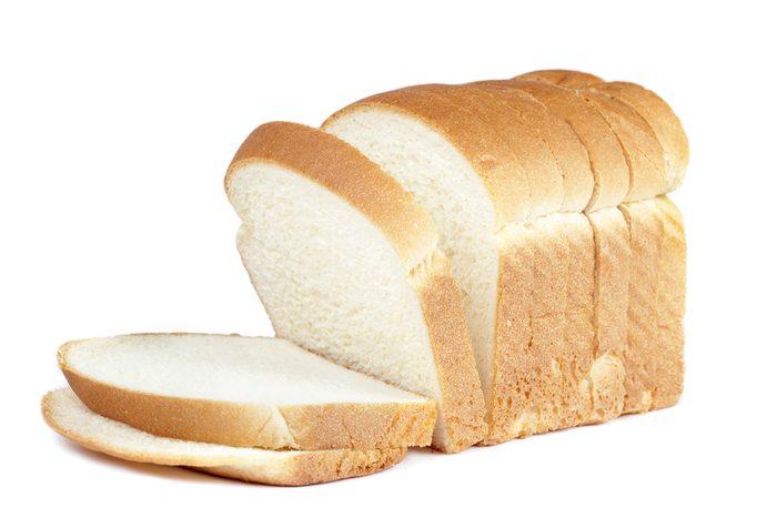 Évitez les aliments blancs