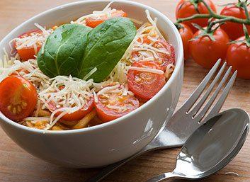 Garniture de tomates pour pâtes fraîches