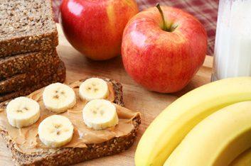 4. Beurre d'arachide et banane