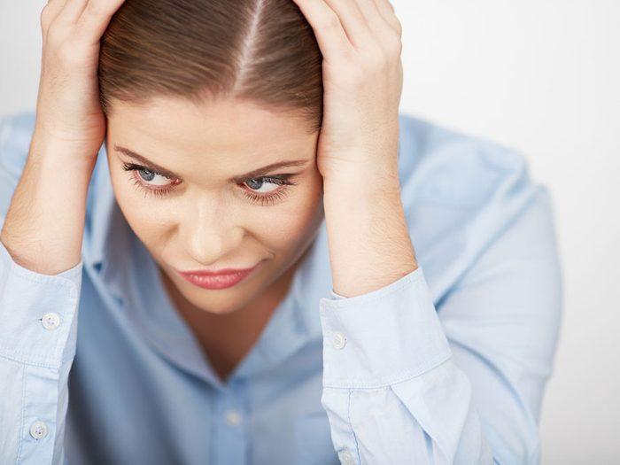Stoppez les pensées stressantes ou négatives