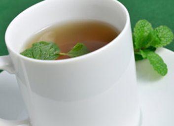 6. Buvez plus de thé à la menthe
