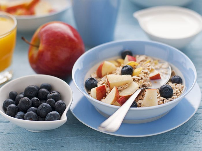 Un déjeuner santé pour bien commencer la journée