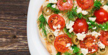 5 succulentes pizzas de moins de 300 calories