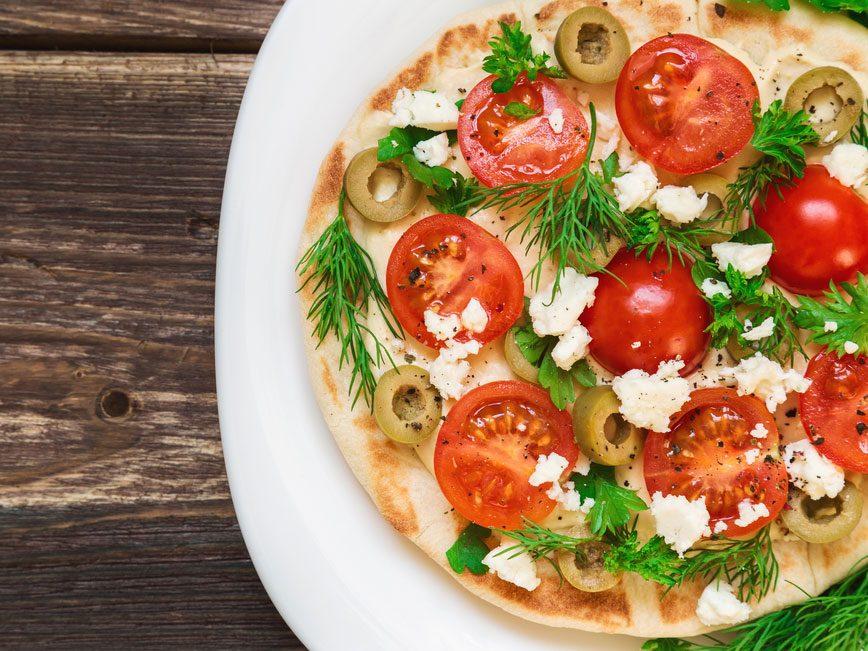 5 succulentes pizzas de moins de 300 calories 1 7