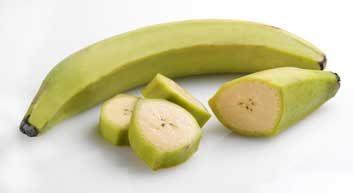Plantains (ou bananes plantains)