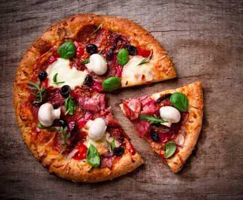 Pointe de pizza