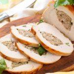 Recette de poitrine de dinde farcie aux pommes déglacée à l'orange