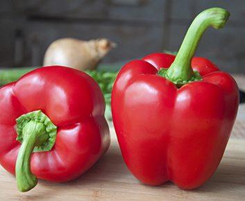 Le poivron rouge