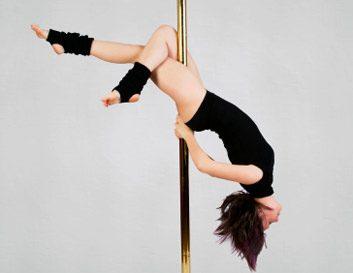3. Danse à la barre verticale (pole dance)