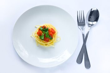 Prenez des repas peu abondants