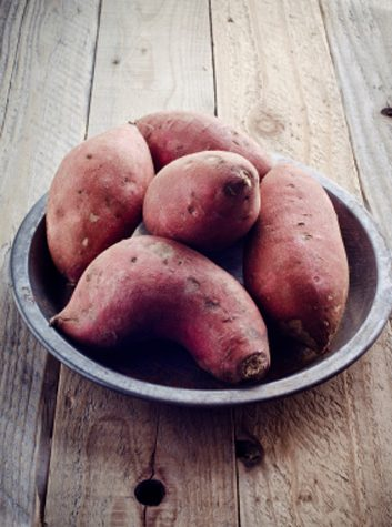 Poivrons et pommes de terre