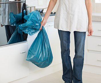 Quelle quantité de déchets finit à la poubelle?
