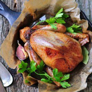 La meilleure recette de poulet aux 40 gousses d'ail et au pistou