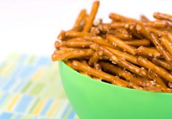 10. Bretzels ou galette de riz soufflé?