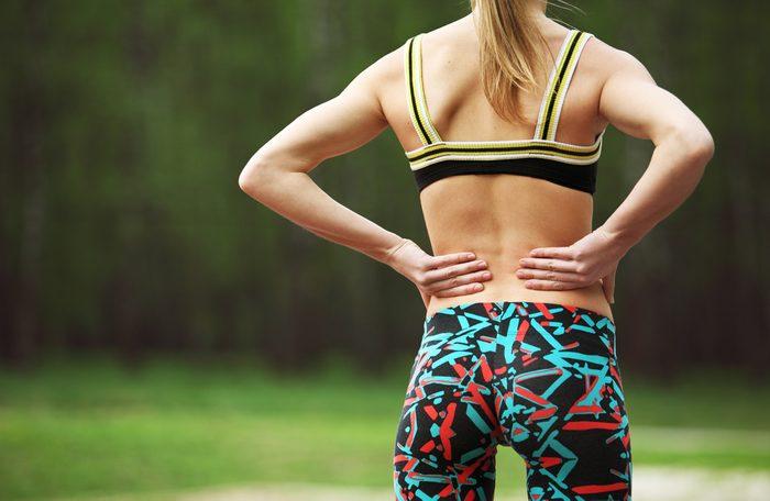 Problème d'acné du dos