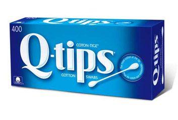 Bâtonnets ouatés Q-Tip