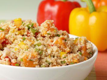 3. Quinoa ou riz entier?
