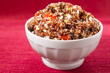 Quinoa aux poivrons rouges