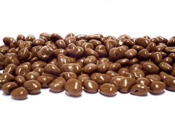 Raisins secs enrobés de chocolat