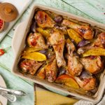 Recette classique de casserole de poulet à l'orge