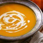 Potage végétarien aux carottes