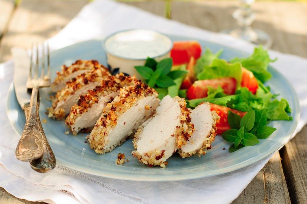 Une recette de poulet et salade de fenouil pour diabétiques
