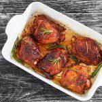 Poulet grillé au romarin