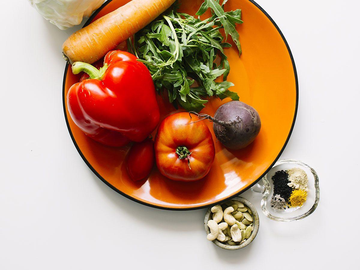 Détoxication par une alimentation non transformée