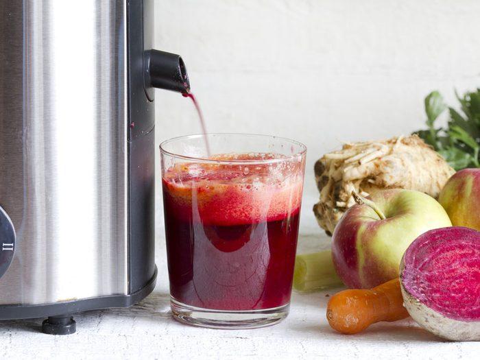 Détox par des jus et des smoothies purifiants