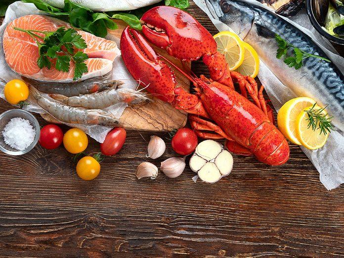 Le poisson est très important dans le cadre d'un régime méditerranéen.