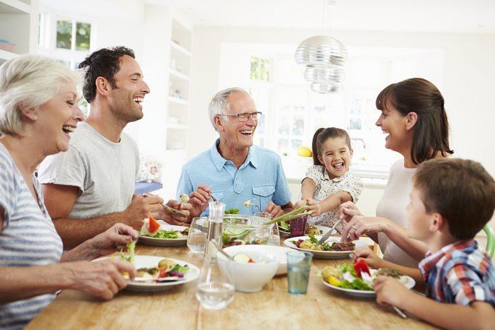 Repas famille.