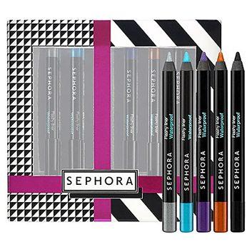 Ensemble d'eye-liners aux couleurs éclatantes de Sephora