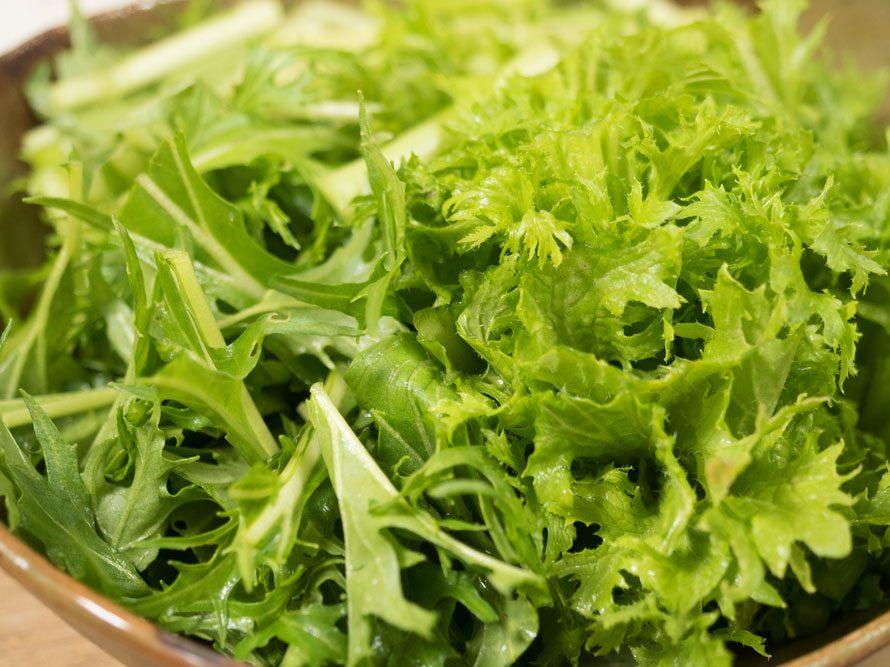 10. Salade verte