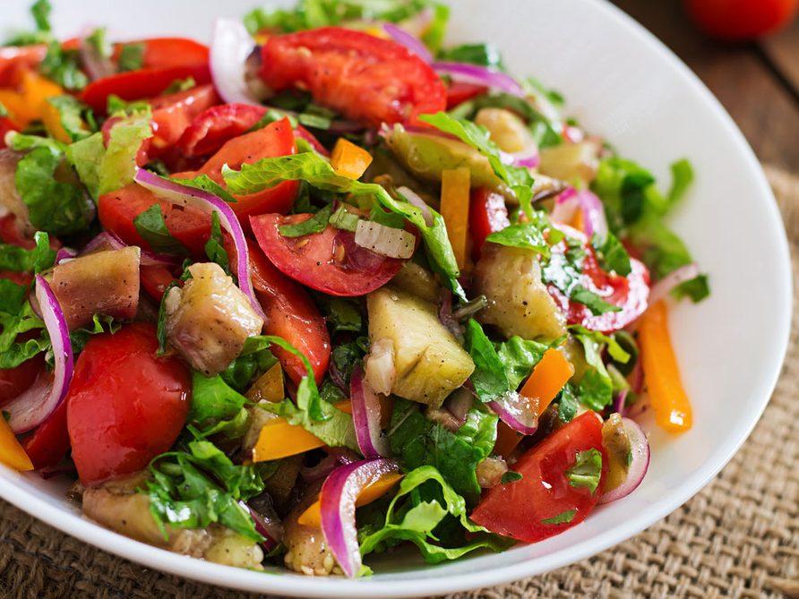 Recette Salade.