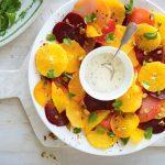 Recette santé: salade de betteraves à l'orange