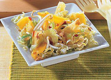 Salade asiatique de germes de soja