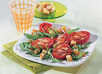 Salade de tomates fraîches