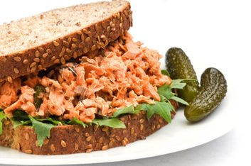 9. Sandwich au saumon ou au thon?