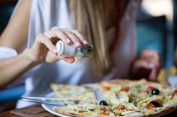 10. Réduisez votre consommation de sel