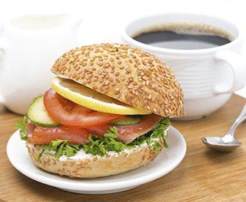 Un sandwich-déjeuner